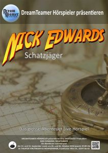 Poster Nick Edwards, Schatzjäger